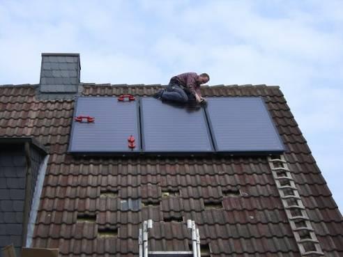 Buderus Solaranlage in Hamburg